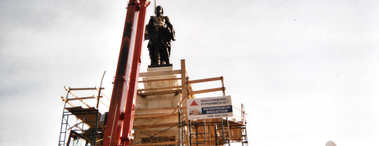 Statue Samuel-de-Champlain